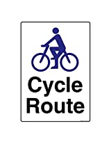 Cycle Route, (GS857-A3AL-01), Material: Aluminium