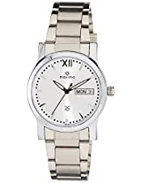 Maxima Analog Silver Dial Women's Watch - 38300CMLI