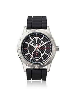 Geoffrey Beene Men's GB8015GUBKRD Black Stainless Steel Watch