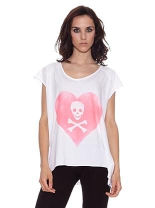 The Hip Tee Camiseta Love Poison (Blanco)