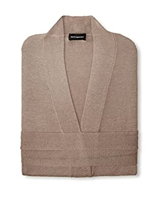 a & R Cashmere Wool & Cashmere Robe, Sand, One Size