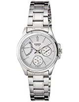 Casio Enticer Analog White Dial Women's Watch  - LTP-2089D-7AVDF (A1037)