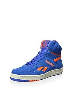 Reebok Men's Hi Mid Basketball Athletic Sneaker (Vital Blue/Swag Orange/Paperwhite)