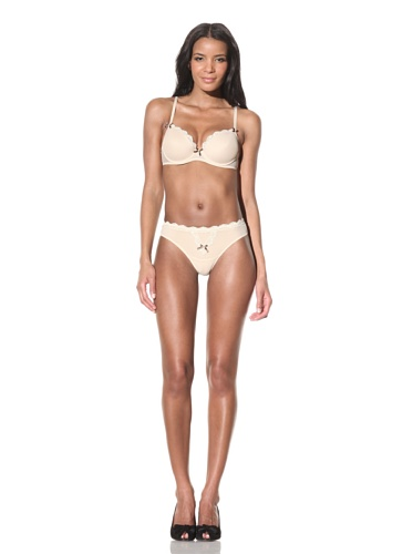 Betsey Johnson Women's Stretch Mesh Thong (Skinny Dip)