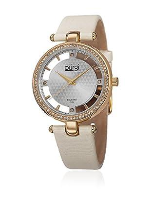 Bürgi Uhr mit schweizer Quarzuhrwerk Woman beige