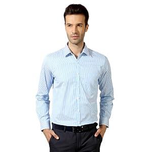 Peter England Full Sleeved Slim Fit Shirt