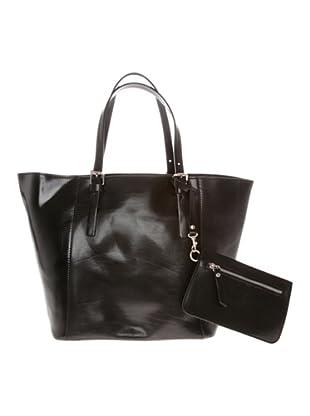 Valance Paris Shoppingtasche (Schwarz)