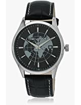 5124205 Black/Black Analog Watch Ted Lapidus