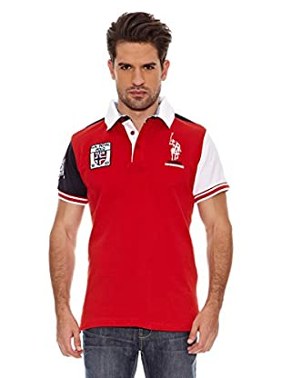 Geographical Norway Polo Manga Corta Kyle Ss Men 100 (Rojo)
