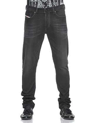 Diesel Pantalón Vaquero Tepphar (Negro)