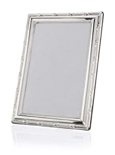 Cunill Barcelona Reed and Ribbon Sterling Silver Frame