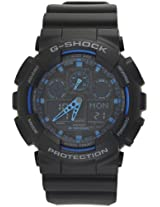 Casio G-Shock GA100-1A2 Ana-Digi Men's Watch