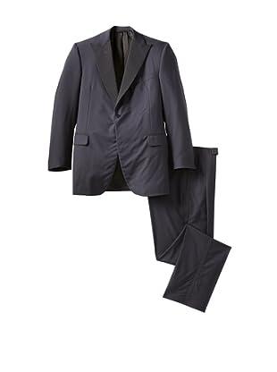 Oxxford Men's Peak Lapel Tuxedo (Navy)