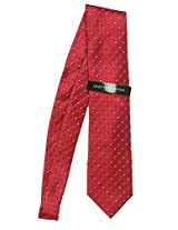 Geoffrey Beene BT0517M6 Men's Dot Grid Neck Tie Red / Multi