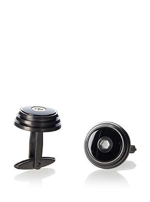 Porsche Design Grooves Titanium Cufflinks
