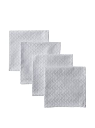 Garnier-Thiebaut Set of 4 Reflection Napkins (Grey)