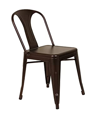 Control Brand Berit Side Chair, Coffee