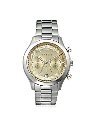 Cross Men's CR8022-55 Bodoni Silver/Beige Stainless Steel Watch