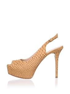 Pour La Victoire Women's Vanesa Platform Sandal (Saddle Brown)