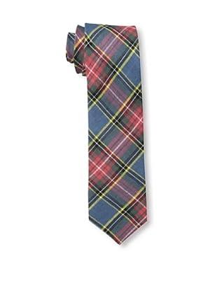 Gitman Men's Multi Plaid Tie, Red