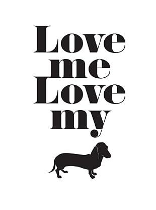 Vinilo Love My Dog