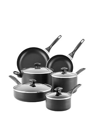 Farberware Nonstick 14-Piece Cookware Set (Black)