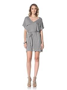 Paul & Joe Women's Rosiere Shirt Dress With Tie Waist (Grey)