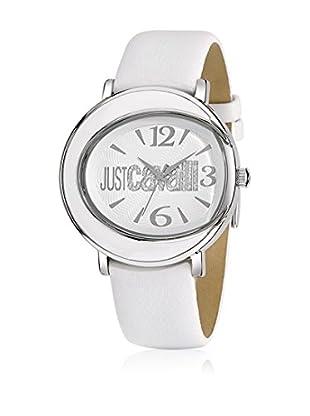 Just Cavalli Reloj con movimiento Miyota Woman Lac Blanco 42 mm