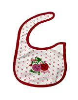 Woosh Baby Velcro Bib(Red)
