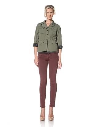 Trovata Women's Houlihan Military Blazer (Olive)