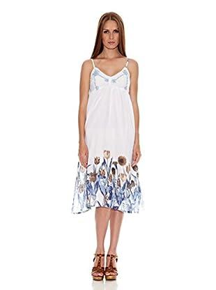 HHG Vestido Cadier (Blanco / Azul)