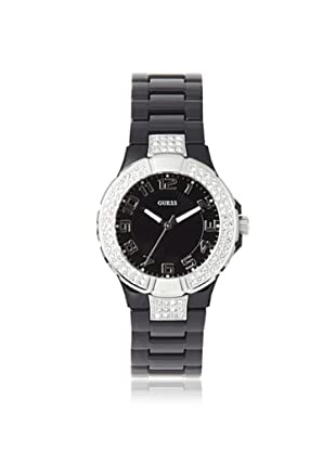 GUESS Women's W11611L2 Prism Black Stainless Steel Watch