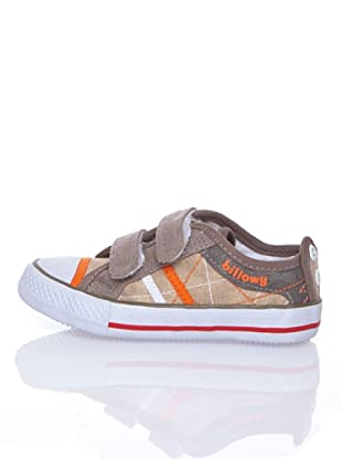 Billowy Zapatillas Lona Velcro (Beige)