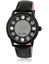 H Ph13181Jsb/02A Black/Silver Analog Watch Paris Hilton