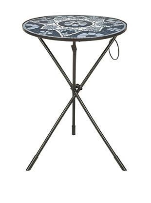 Safavieh Solinus Side Table, Grey/White