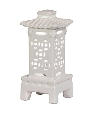 Emissary Ceramic Lantern (White)