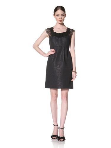 Twinkle By Wenlan Women's Winter Wonderland Dress (Navy/Black)