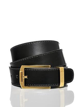 Versace Collection Cinturón Zeus (Negro)