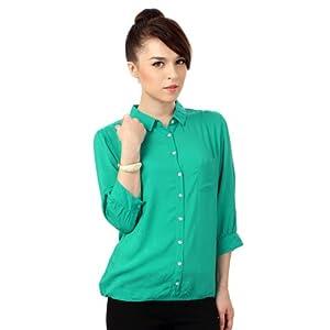 Van Heusen Solid Business Casual Shirt