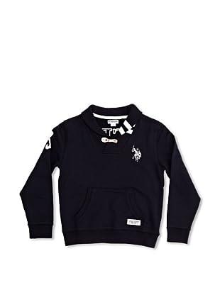 US Polo Assn Sudadera Junior Roger (Azul Oscuro)