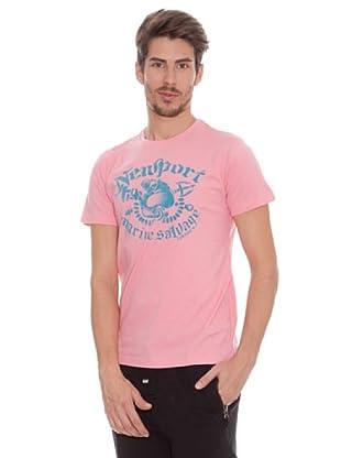 Timeout Camiseta Print Frontal (rosado)