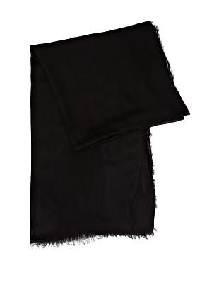 Cortefiel Foulard Liso Colores (Negro)