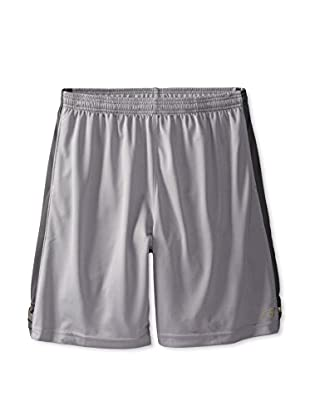 New Balance Men's Cross Run Athletic Shorts (Silver Filigree)