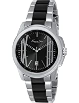 Kenneth Cole Classic Analog Black Dial Mens Watch-IKC9385