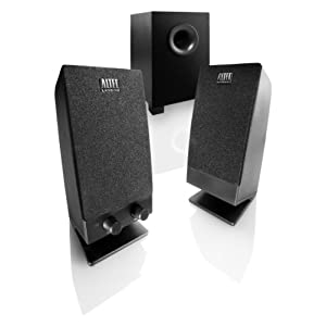 Altec Lansing Stereo Speaker System with Subwoofer for Laptops Netbooks Desktops and MP3 Players (BXR1321)