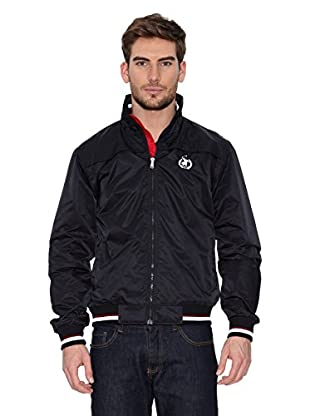 Polo Club Cazadora Micro Zipper (Negro)