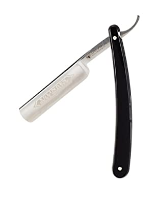 Dovo Full Hollow Carbon Steel 5/8 Straight Razor, Black