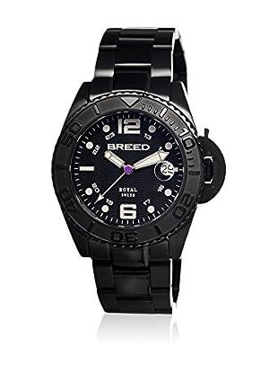 Breed Reloj con movimiento cuarzo suizo Brd4806 Negro 42  mm