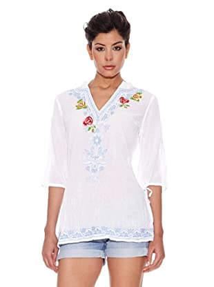 Peace & Love Blusa Willits (Blanco)