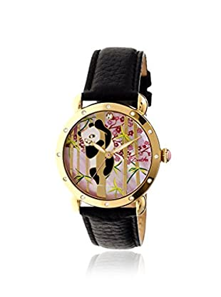 Bertha Women's BR4508 Lilly Black/Multicolor Leather Watch